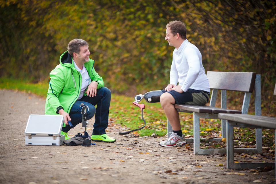 Prothesen-Lösungen für hohe Beanspruchung